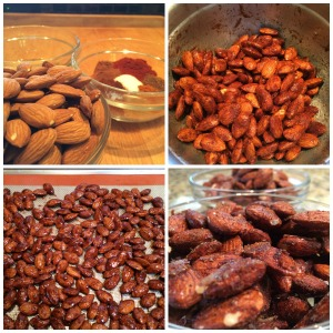 spiced almond collage